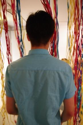 Und zum Abschluss eine eigene Installation imKunstmuseum…