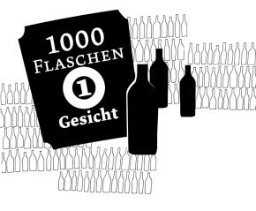 1000 Flaschen 1Gesicht