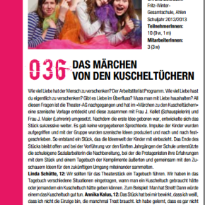 Es lohnt sich dabei zu sein- Theater Plus beim See You Jugendkulturfestival NRW